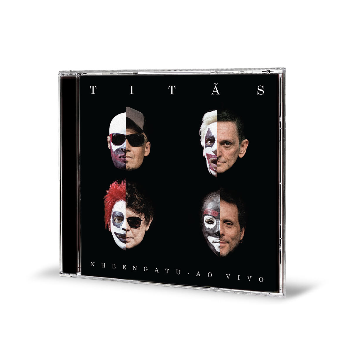 CD Titãs Nheengatu Ao Vivo