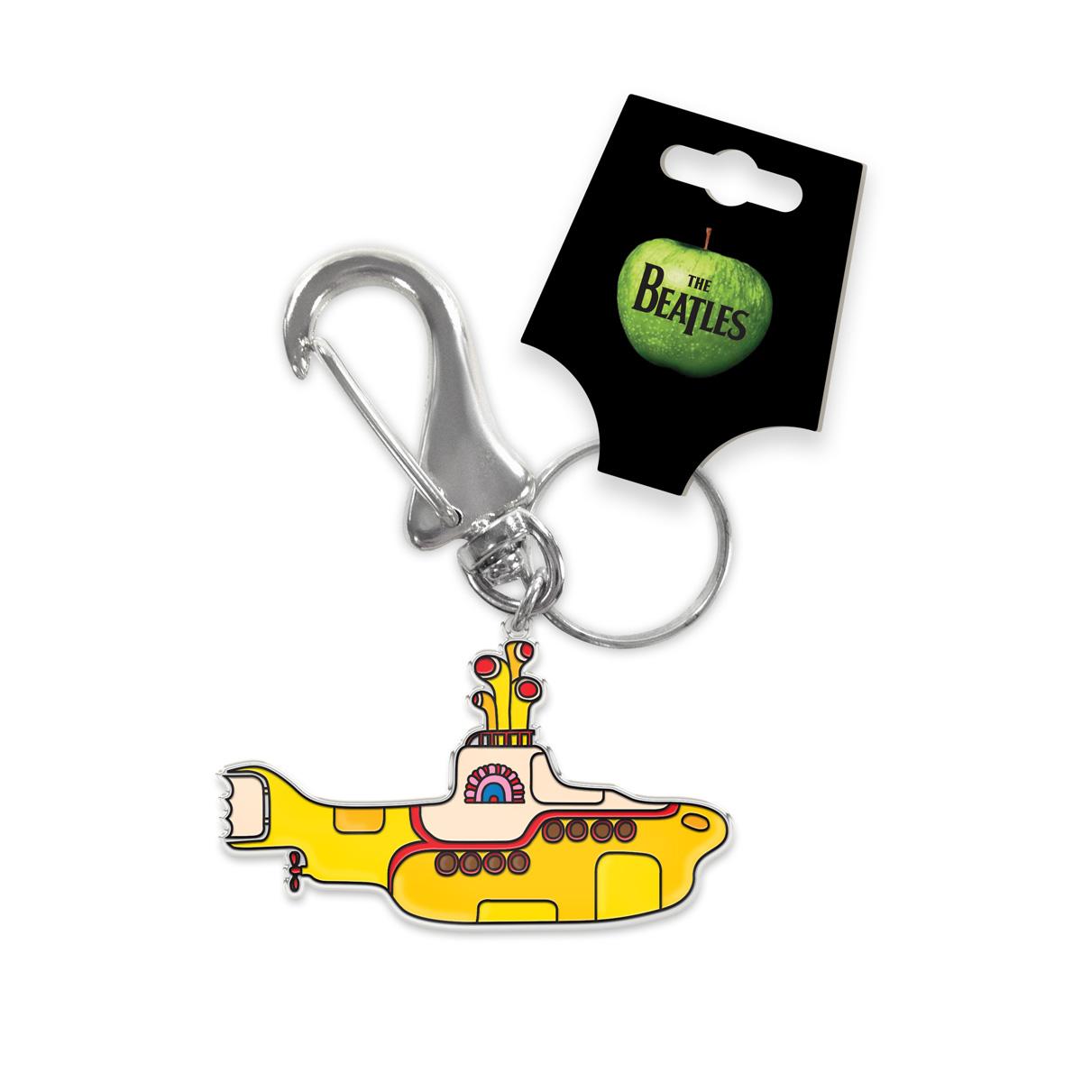 Chaveiro de Metal The Beatles Yellow Submarine 2