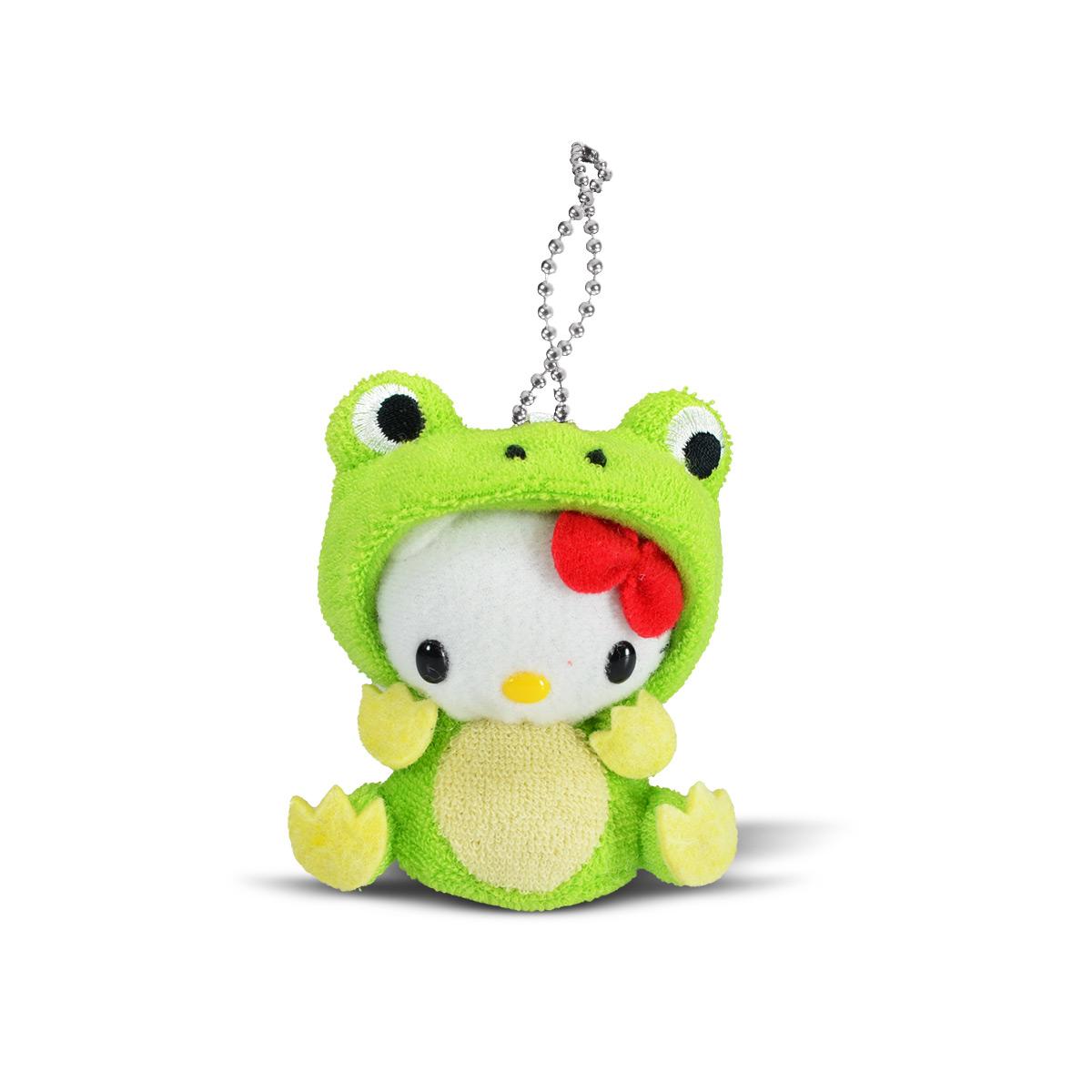 Chaveiro de Pel�cia Hello Kitty Sapo