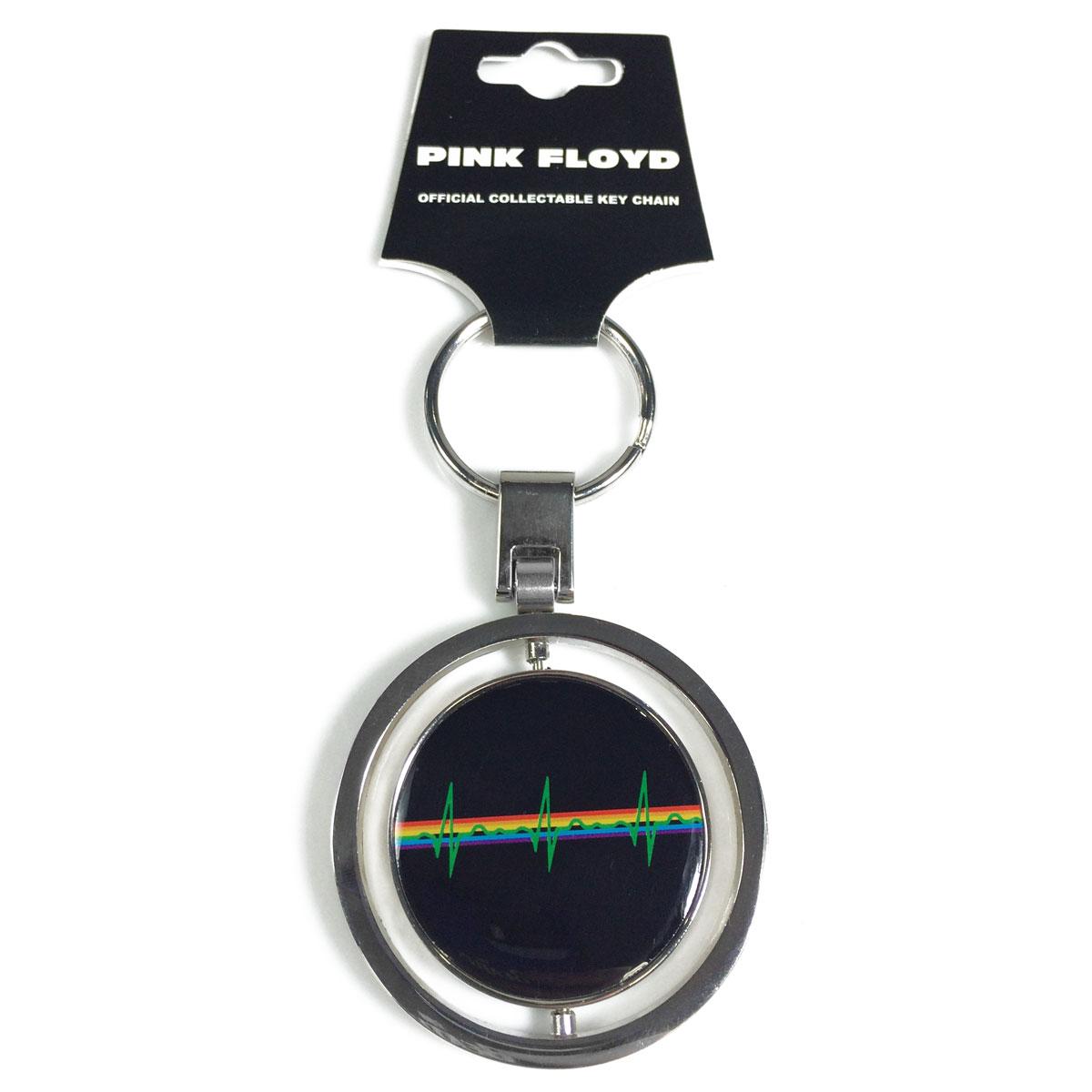 Chaveiro Giratório Pink Floyd Prism