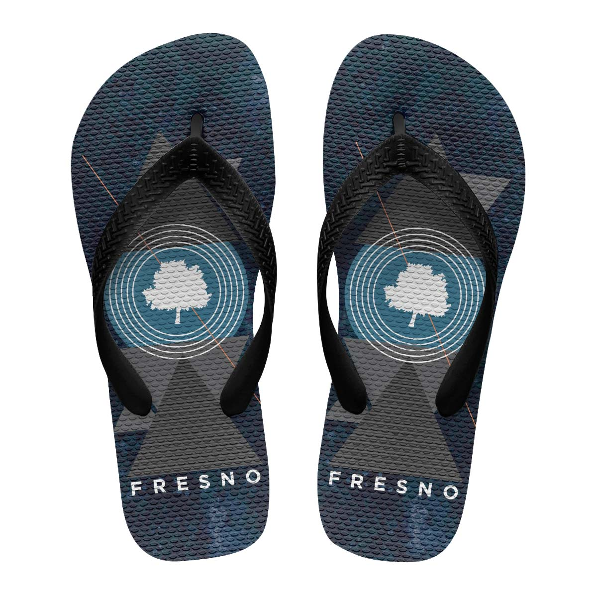 Chinelo Masculino Fresno Geometric