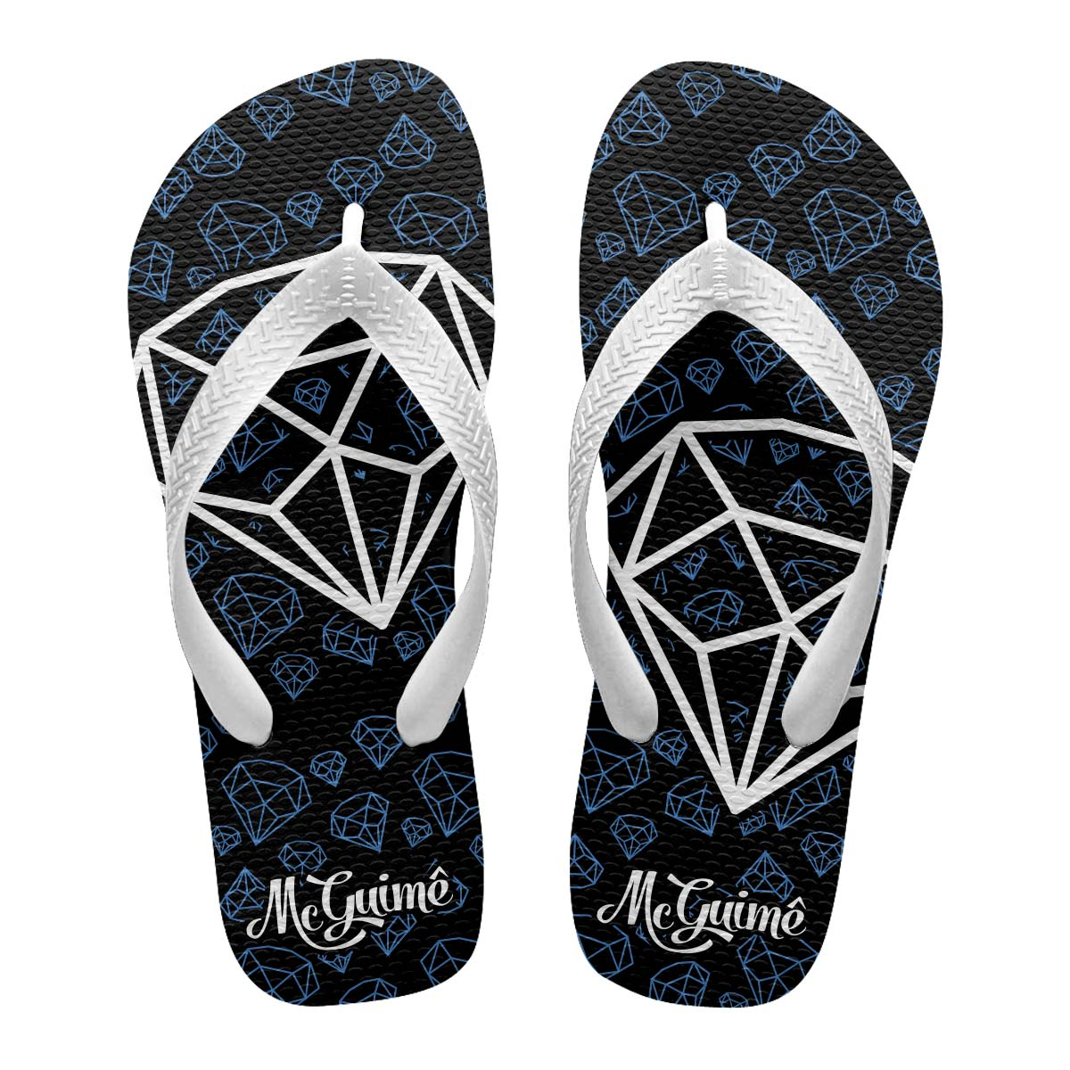 Chinelo Masculino MC Guimê Diamantes