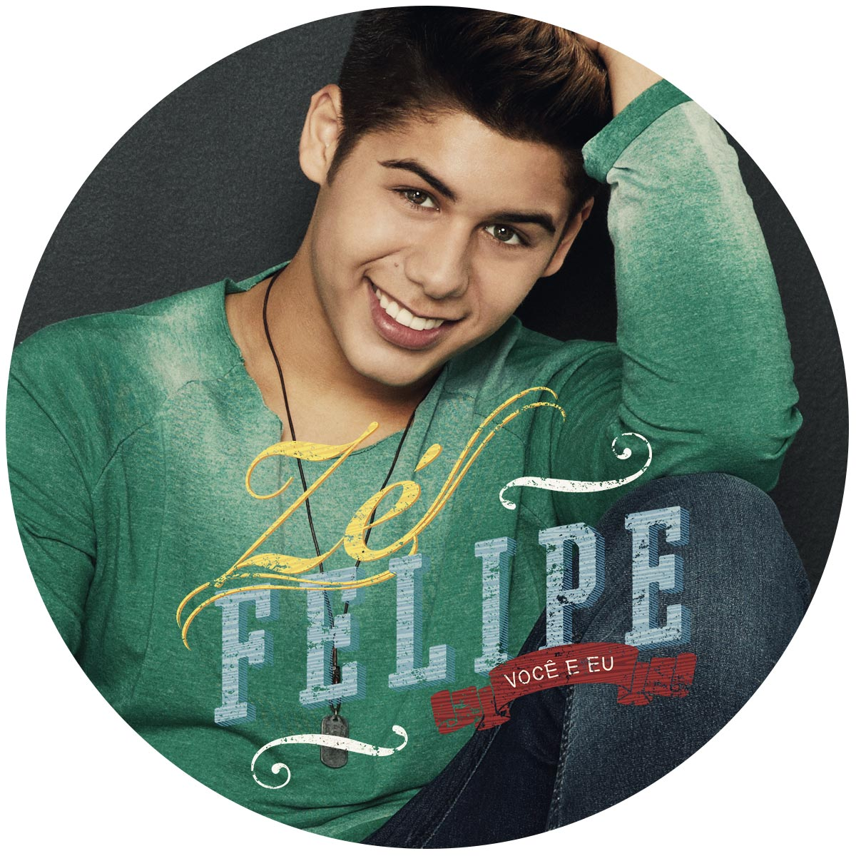 Combo CD AUTOGRAFADO Z� Felipe Voc� e Eu + Camiseta Masculina