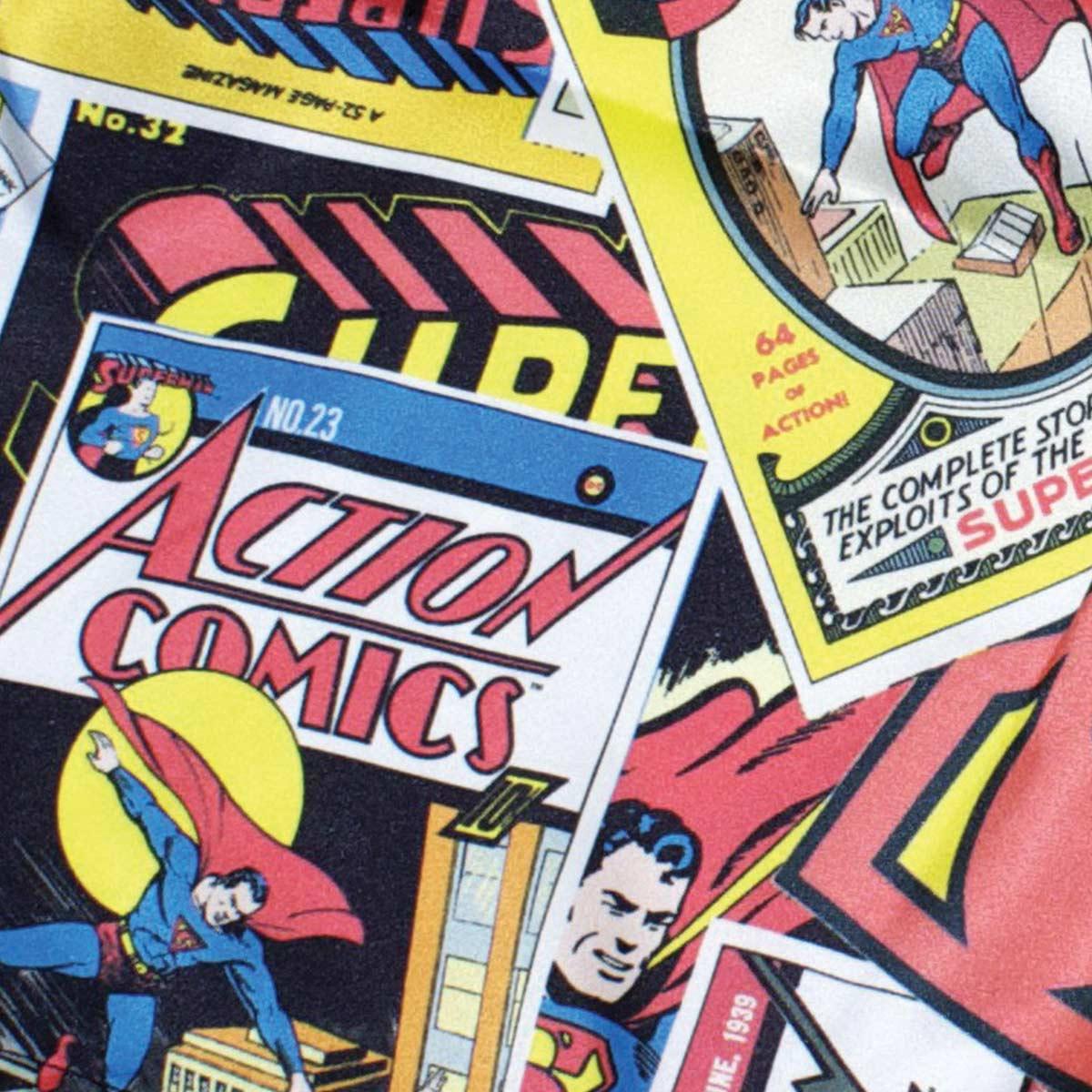 Cueca Samba Can��o DC Comics Cartoon Supeman