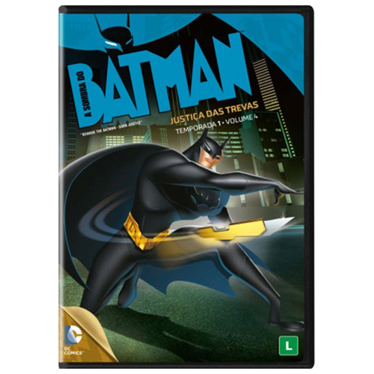 DVD A Sombra do Batman Justi�a das Trevas 1� Temp - Vol. 4