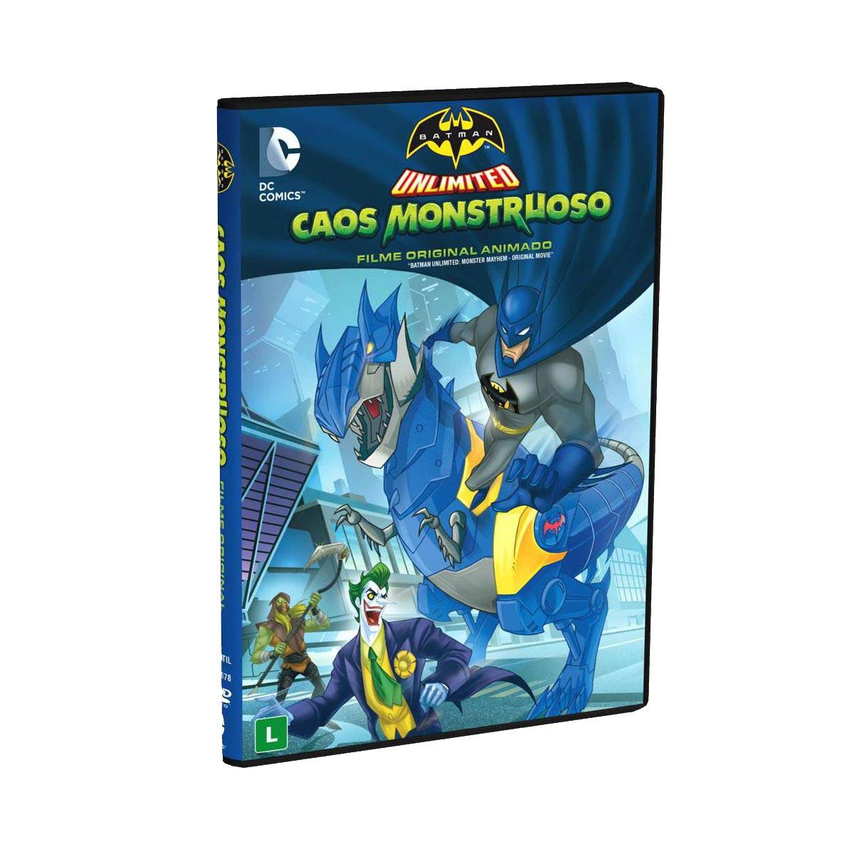 DVD Batman Unlimited Caos Monstruoso