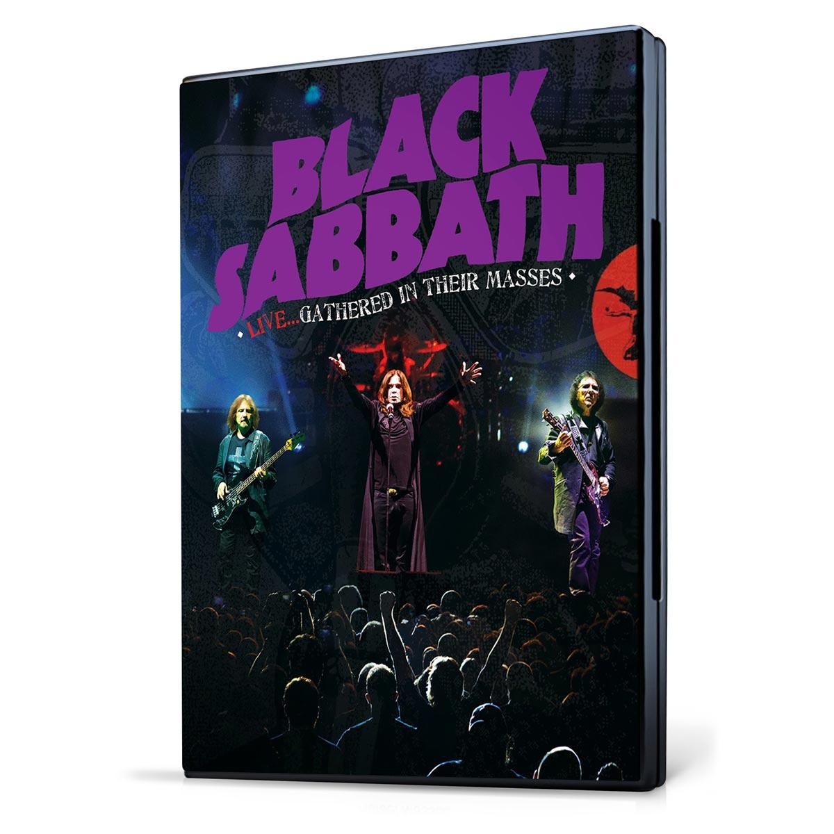 DVD Black Sabbath Live... Gathered In Their Masses