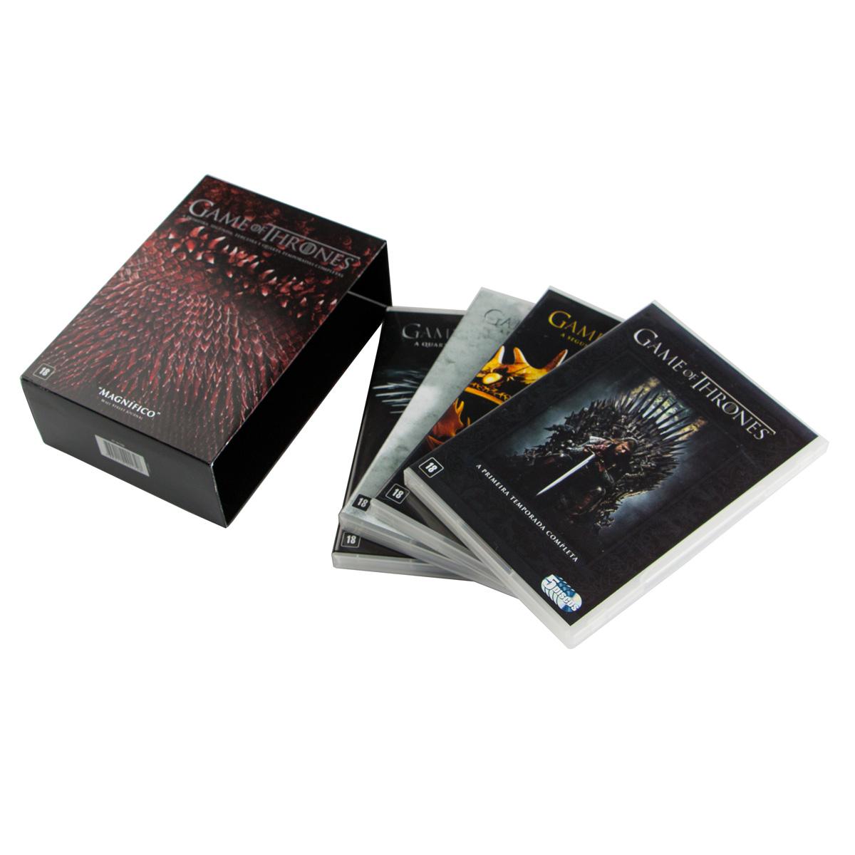 DVD Box Game Of Thrones - 1� a 4� Temporada - 20 Discos