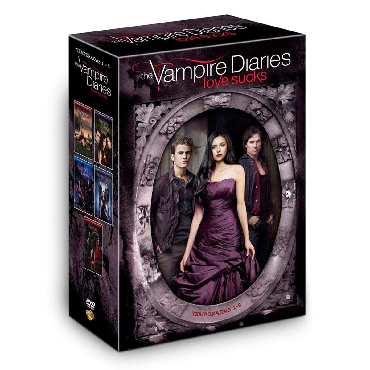DVD Box The Vampire Diaries - 1� a 5� Temporada