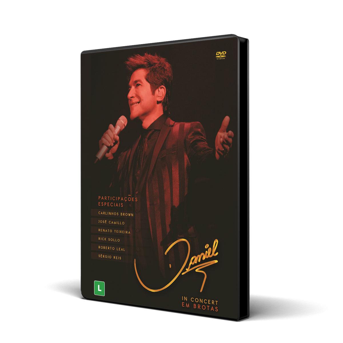 DVD Daniel In Concert Em Brotas