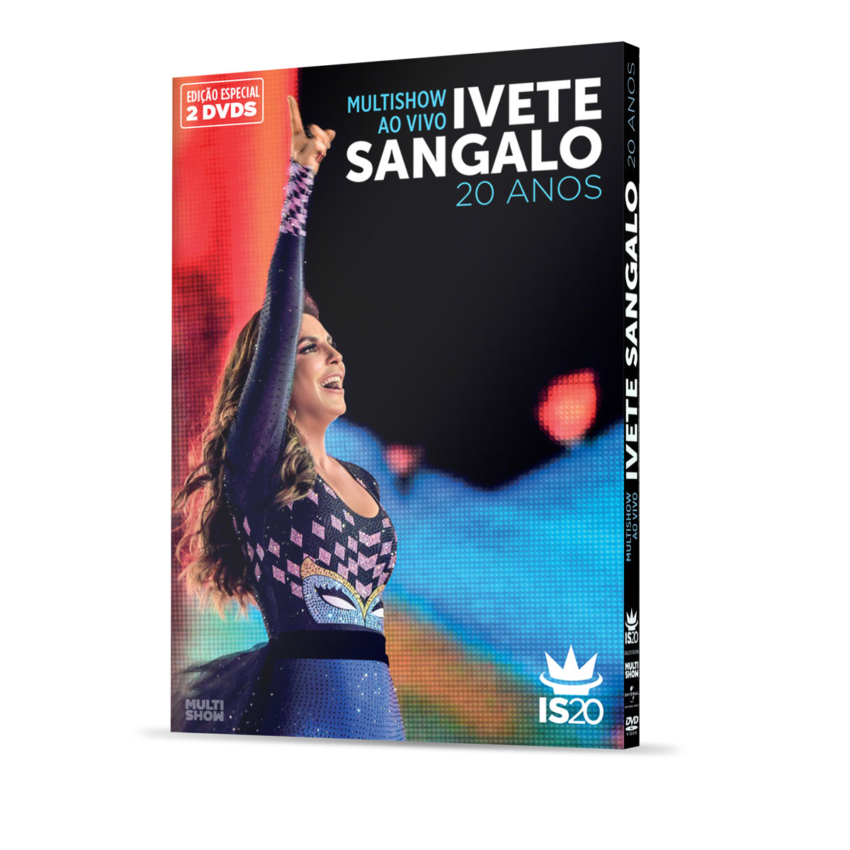 DVD Duplo Ivete Sangalo 20 Anos Ao Vivo no Multishow