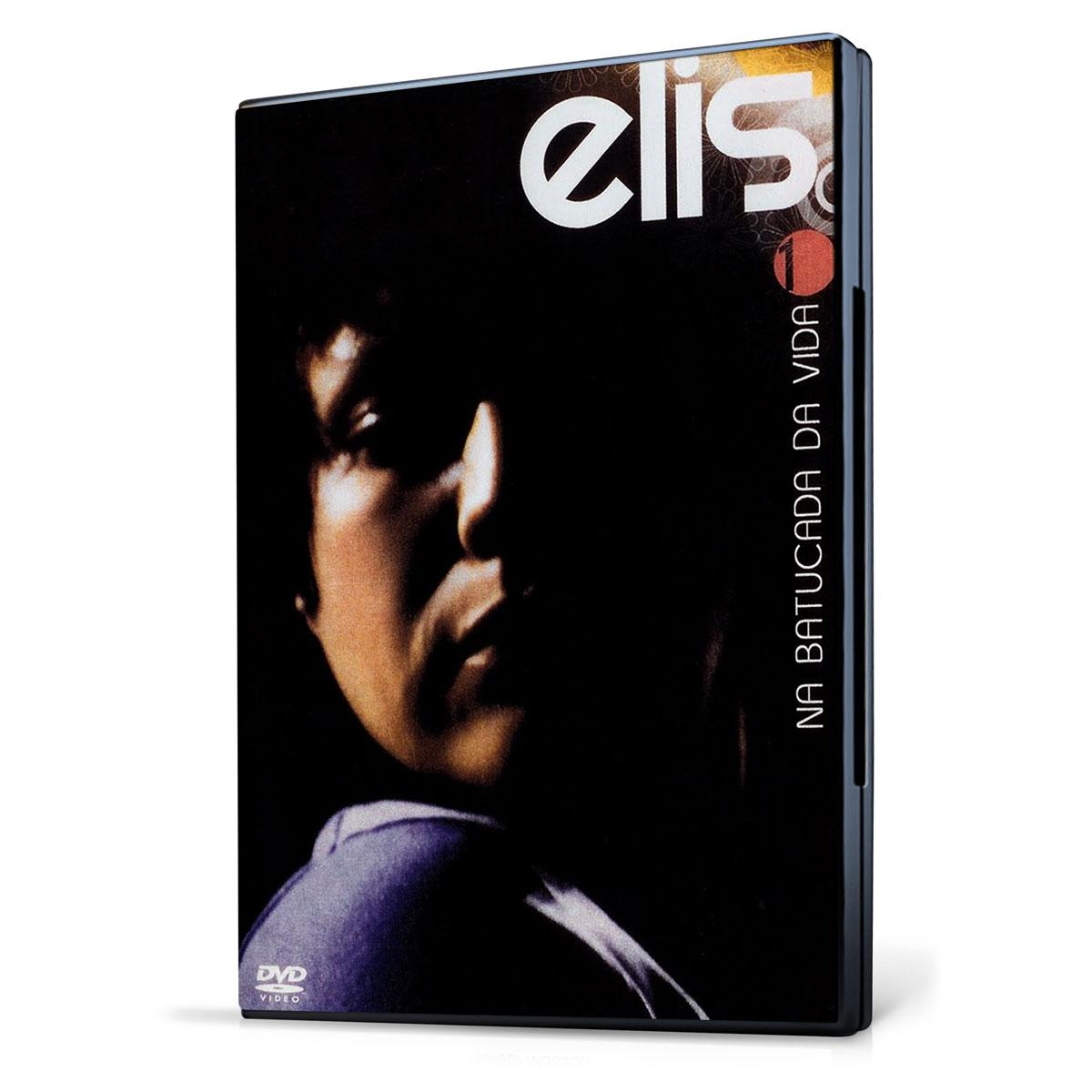 DVD Elis Regina Na Batucada da Vida