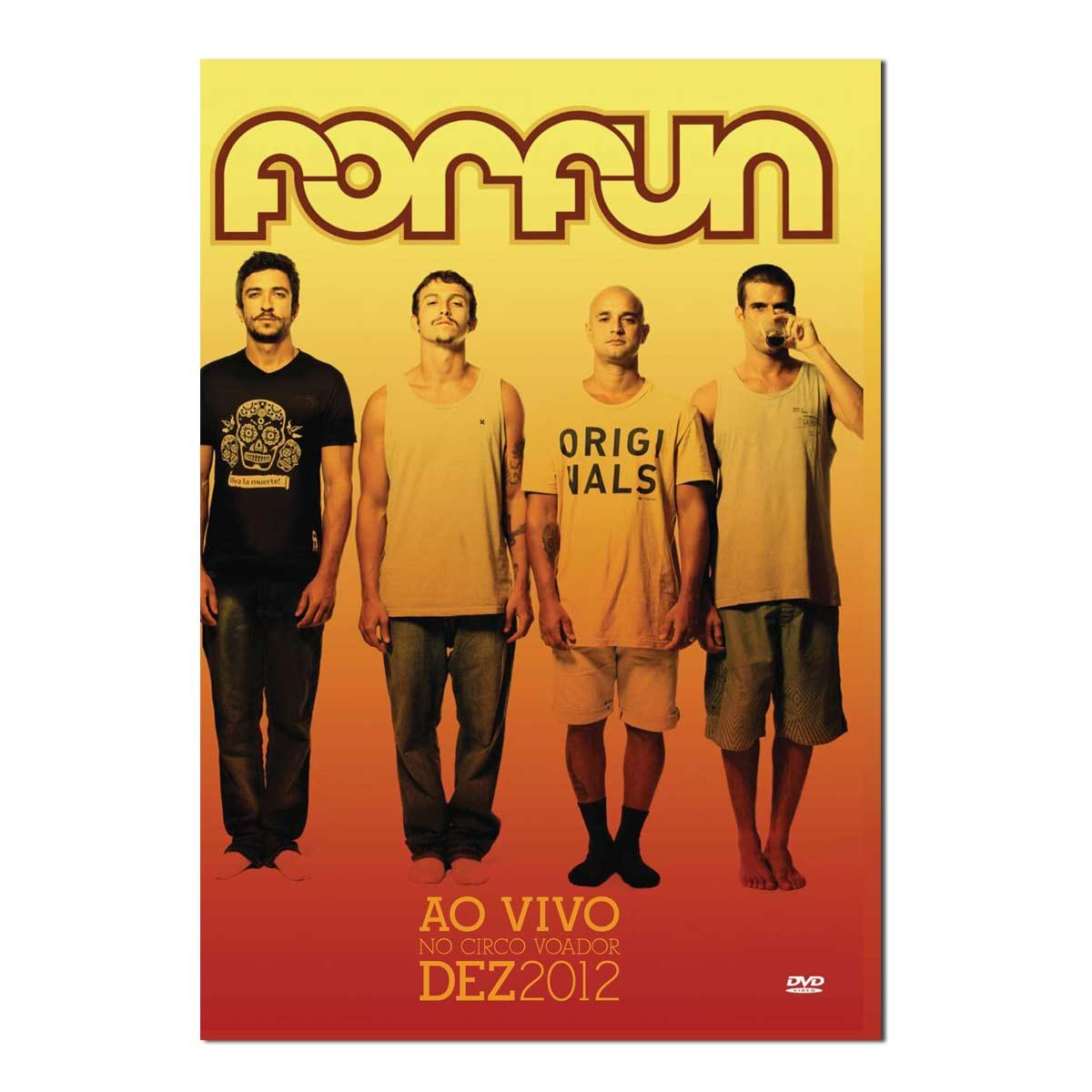 DVD Forfun Ao Vivo no Circo Voador Dezembro 2012