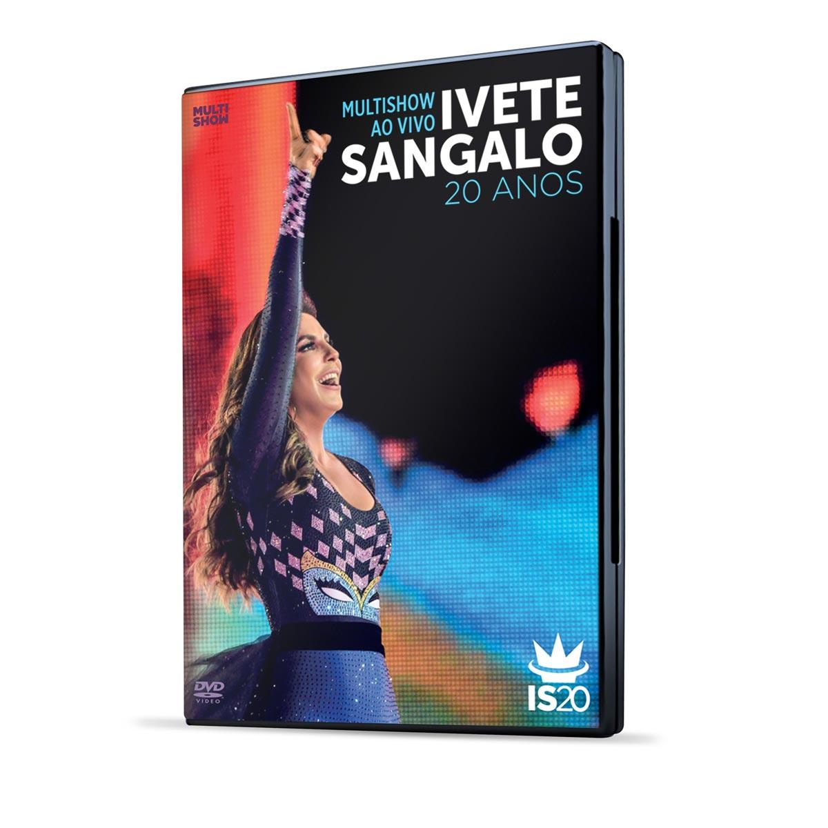 DVD Ivete Sangalo 20 Anos Ao Vivo no Multishow