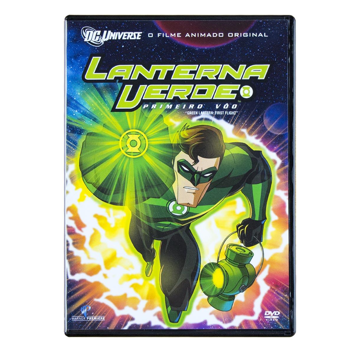 DVD Lanterna Verde Primeiro Vôo