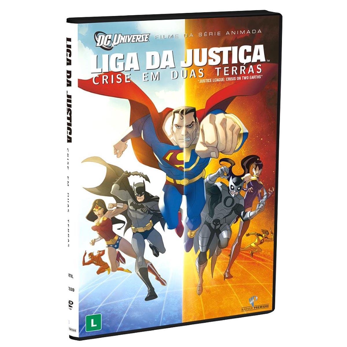 DVD Liga da Justiça: Crise em Duas Terras