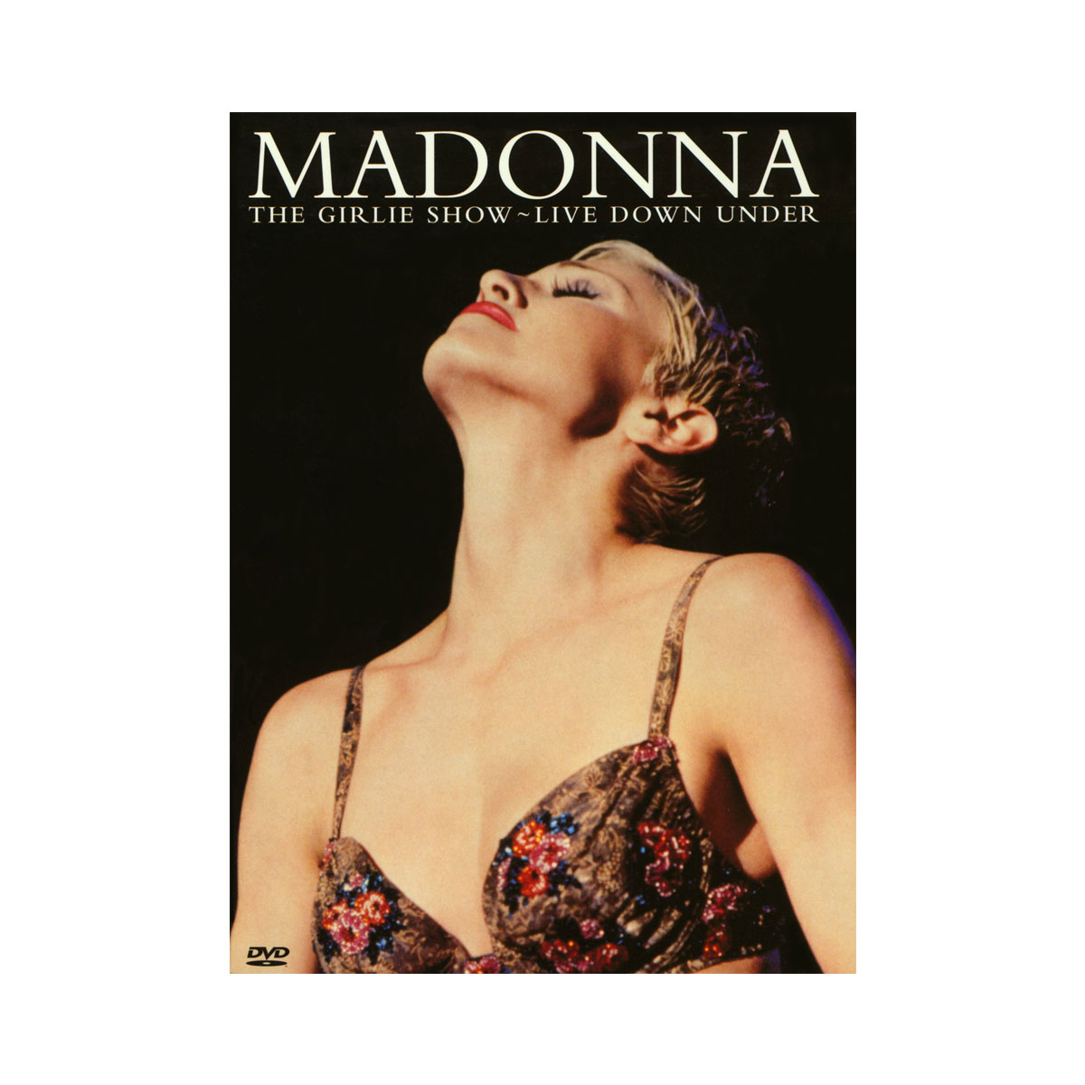 DVD Madonna The Girlie Show Live Down Under
