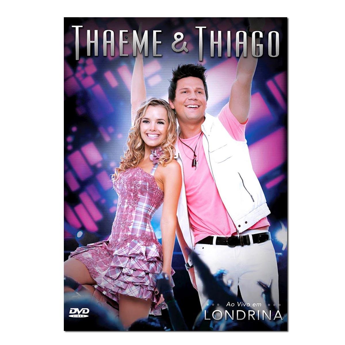DVD Thaeme & Thiago - Ao Vivo em Londrina