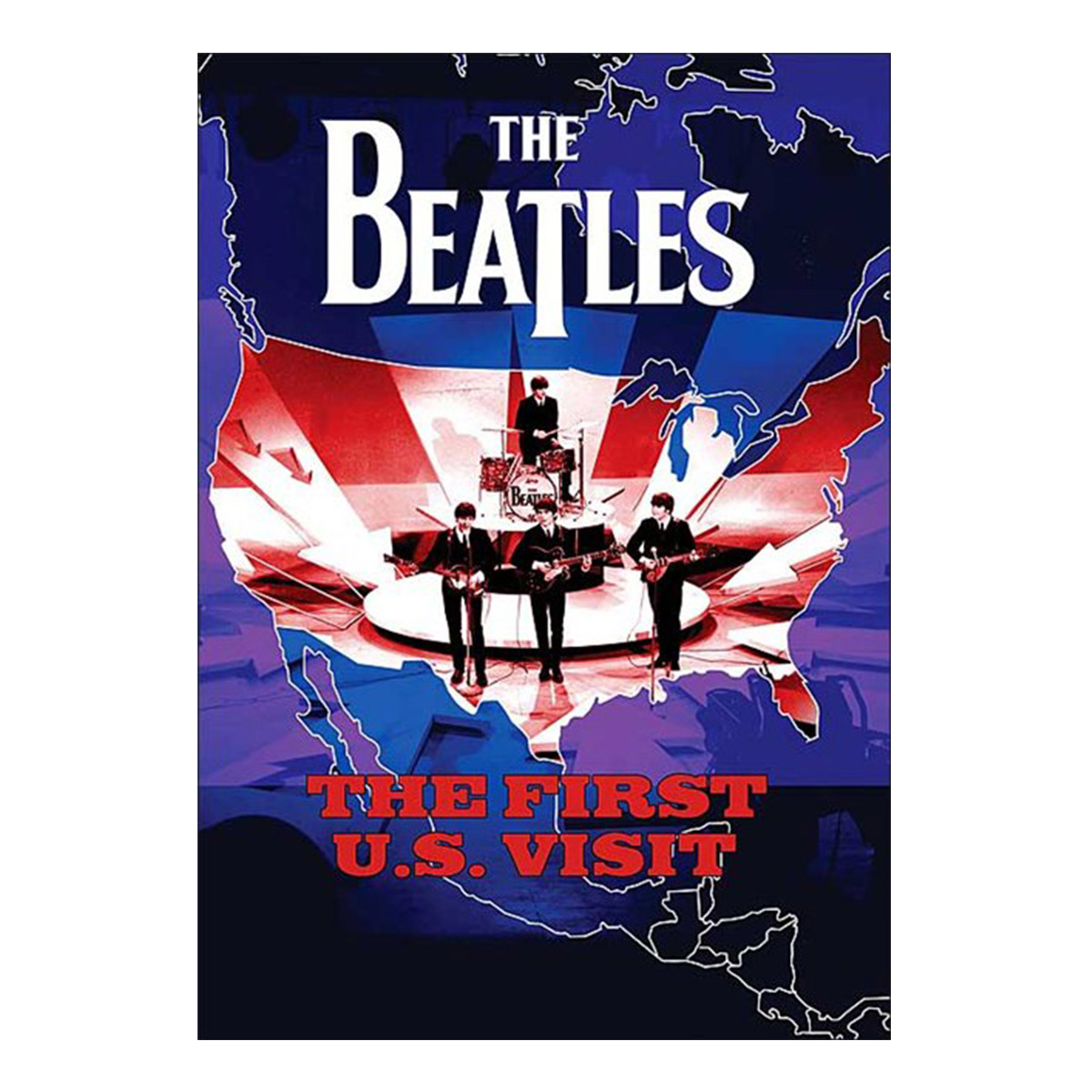 DVD The Beatles The First Us Visit
