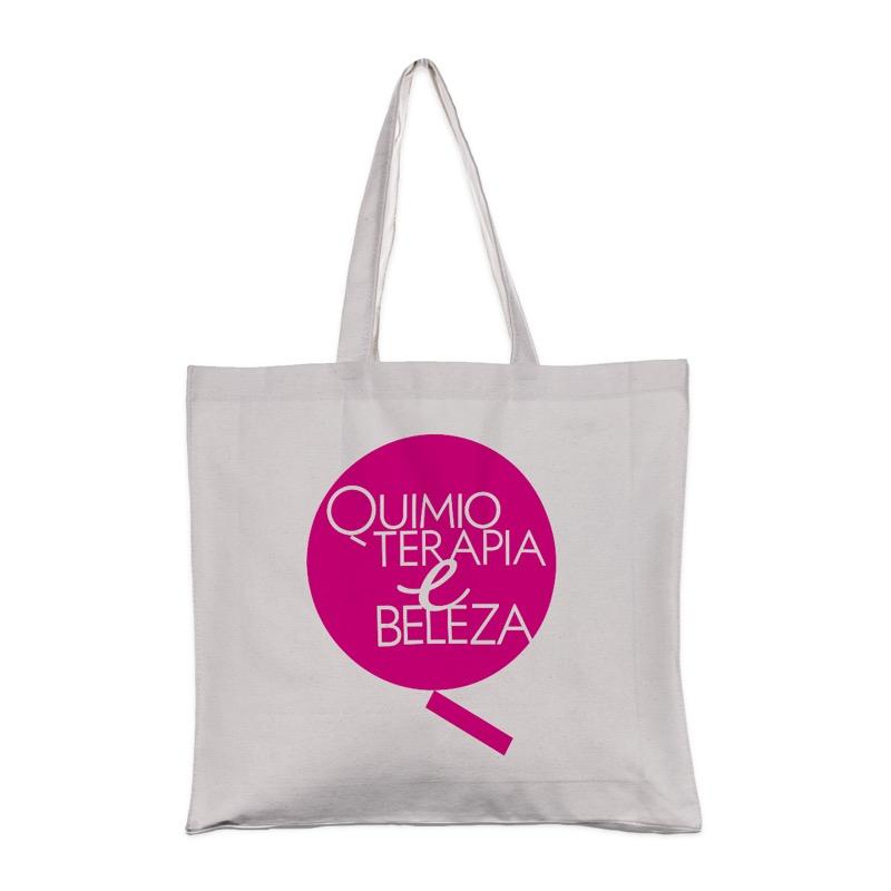 Ecobag QeB Quimioterapia e Beleza
