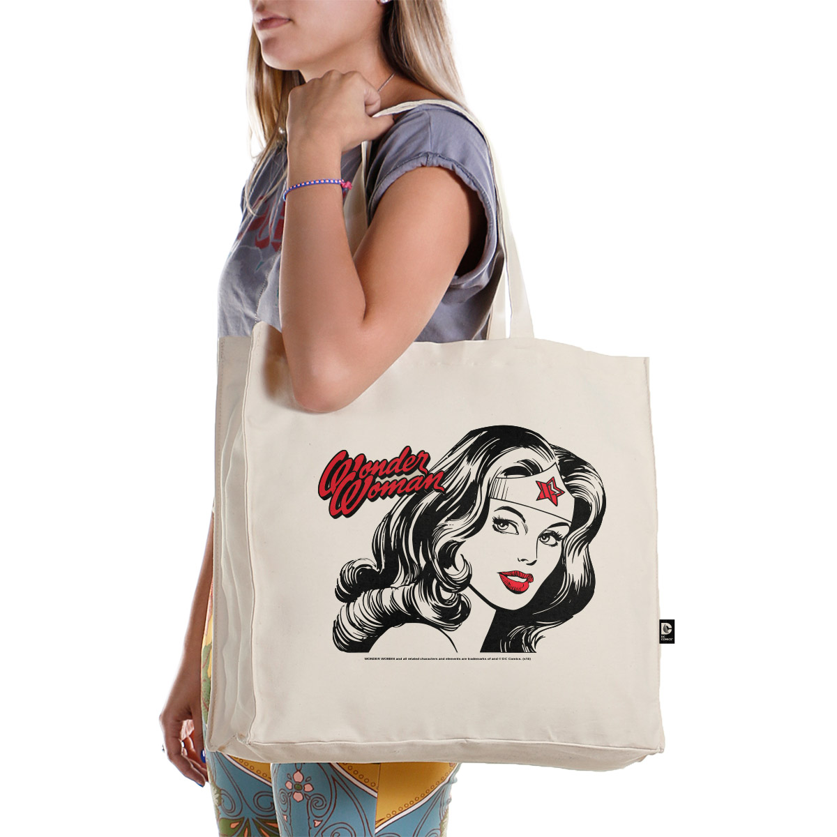 Ecobag Wonder Woman Fashion
