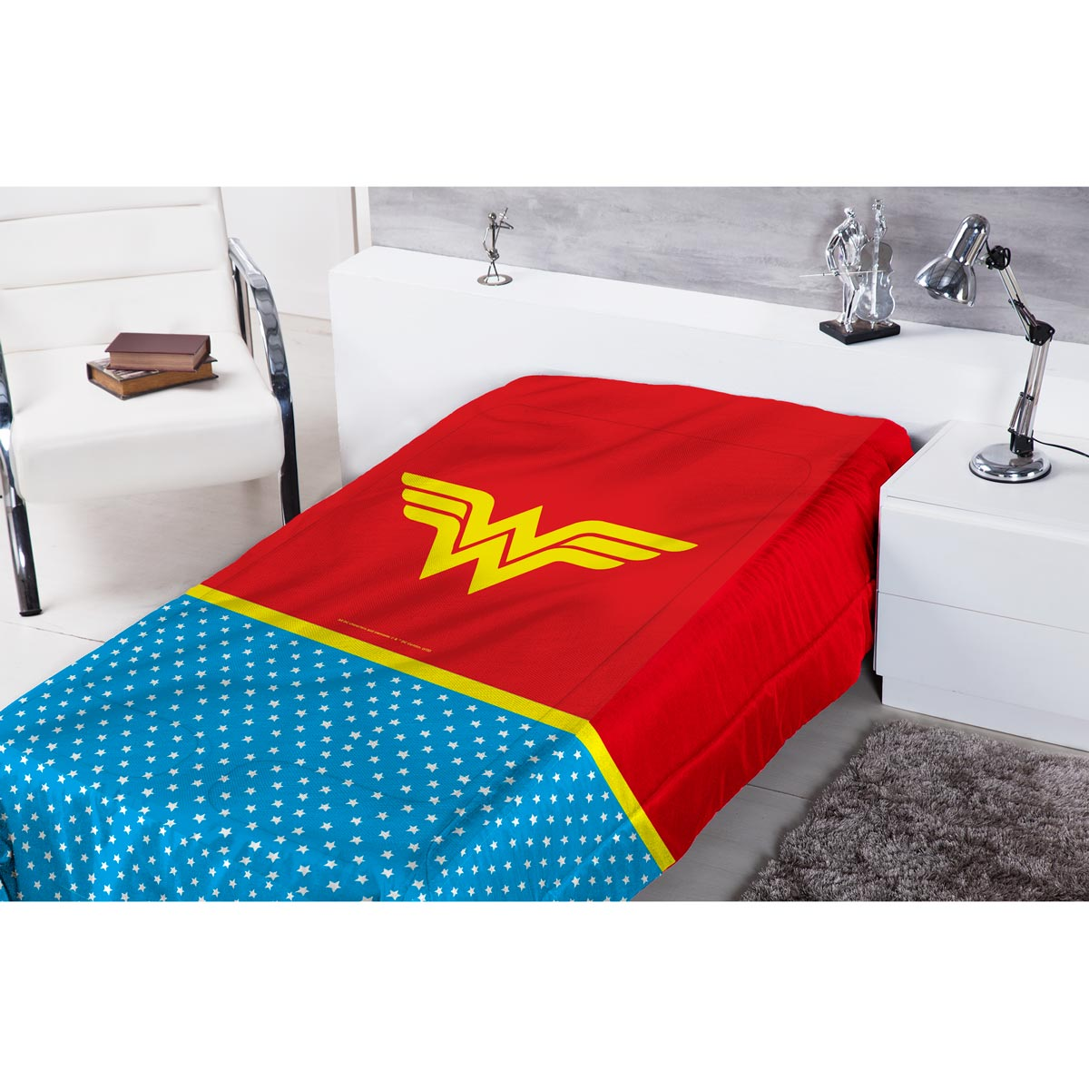 Edredom de Solteiro Wonder Woman Clothes