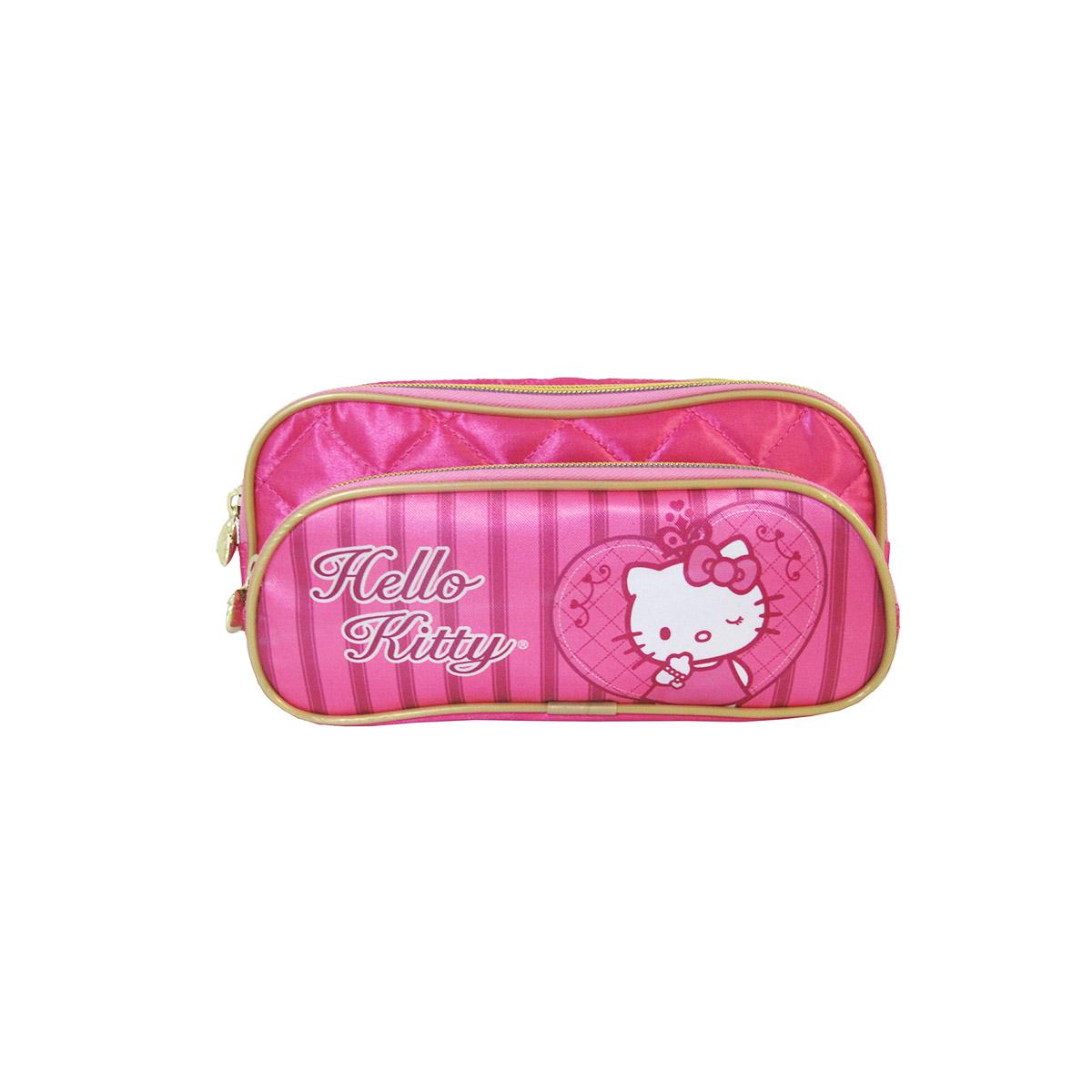 Estojo com Dois Compartimentos Hello Kitty Precious 924k14