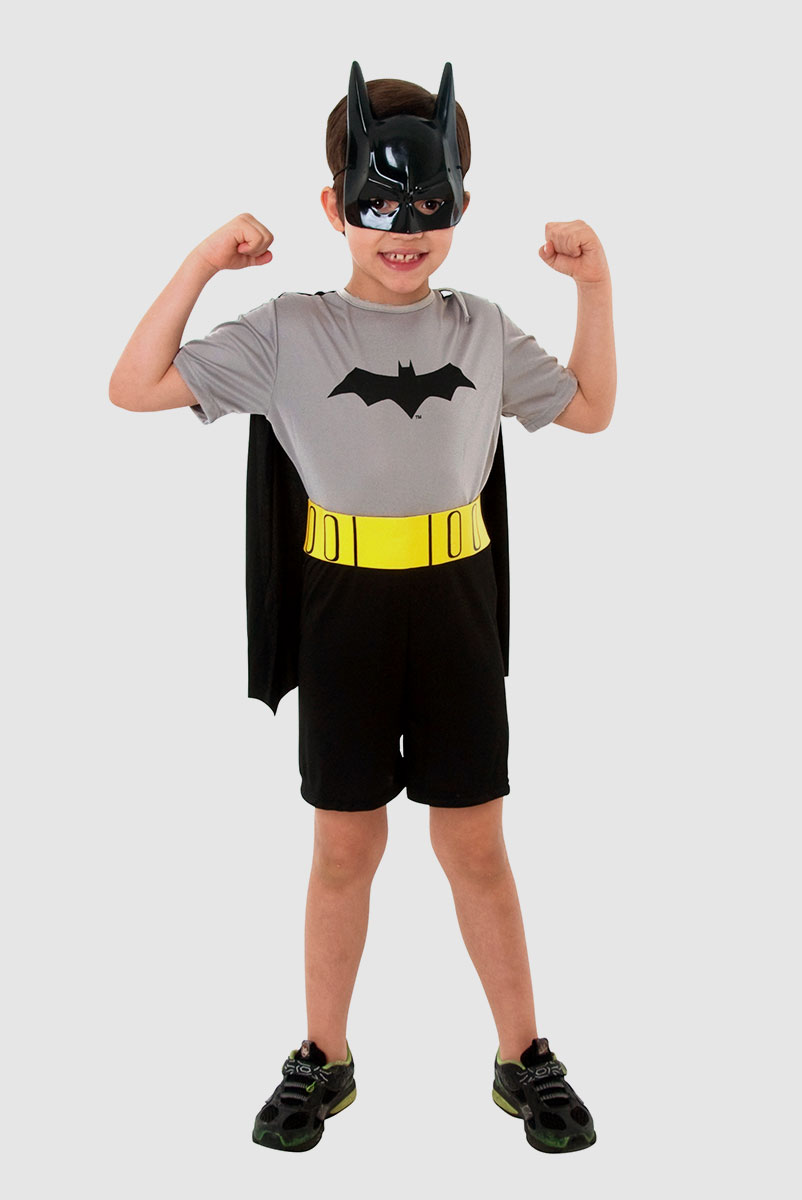 Fantasia Infantil do Batman com M�scara