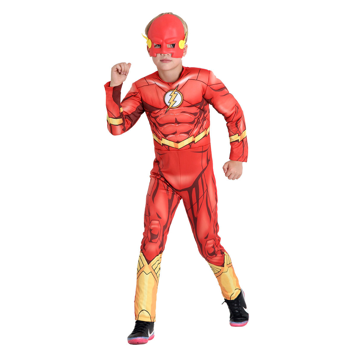 Fantasia Infantil The Flash Premium na Lata