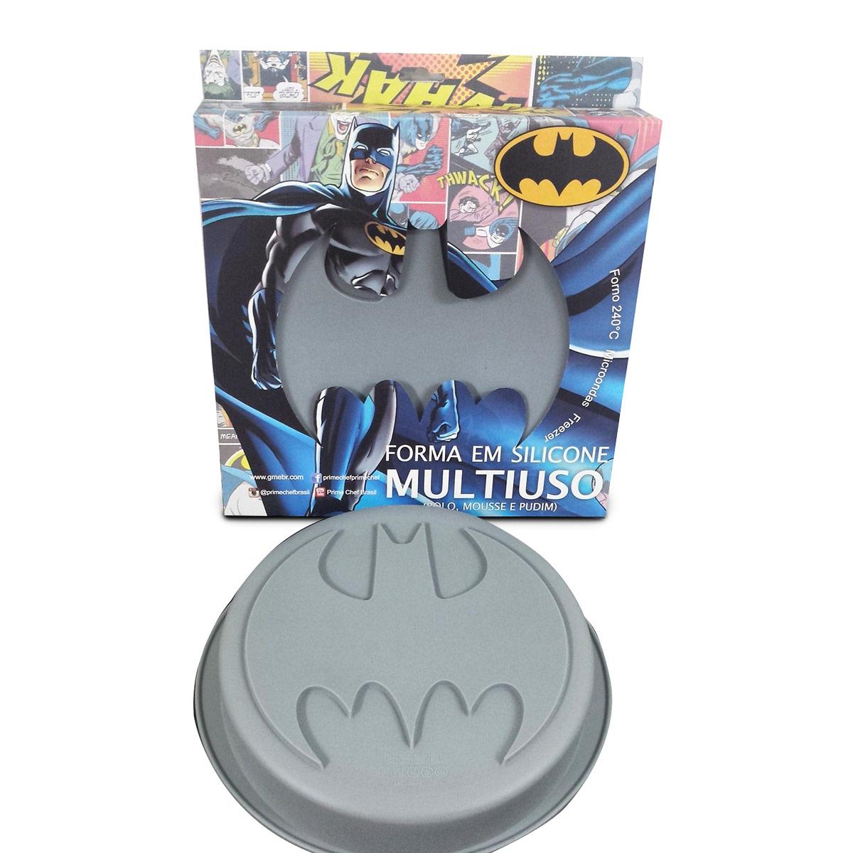 Forma de Bolo Batman Logo