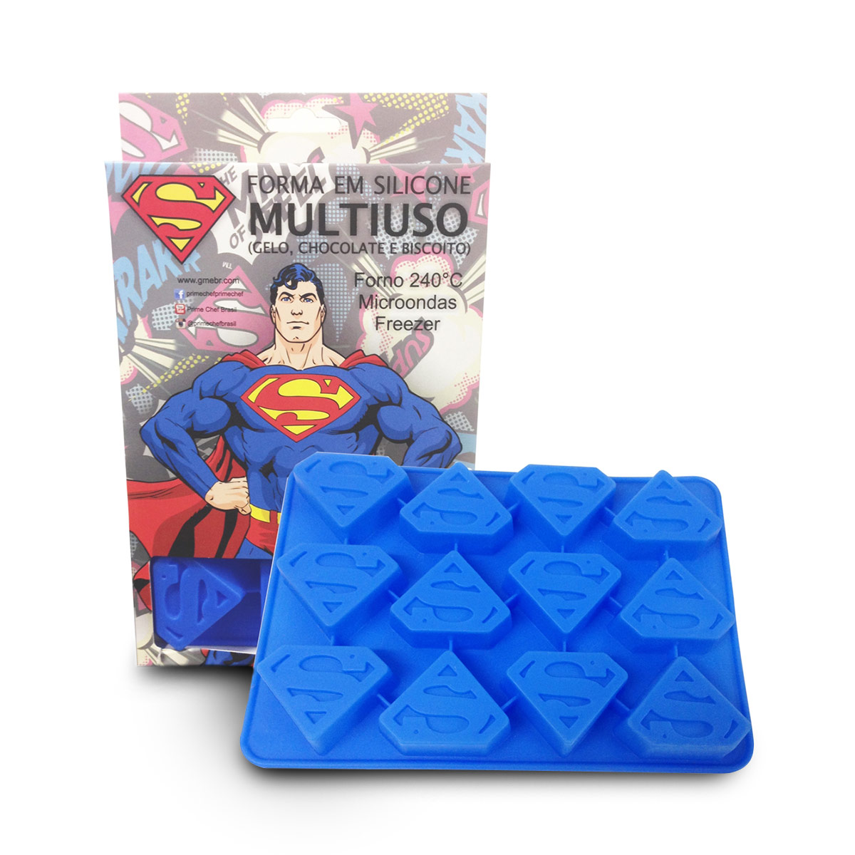 Forma Multiuso Superman Logo