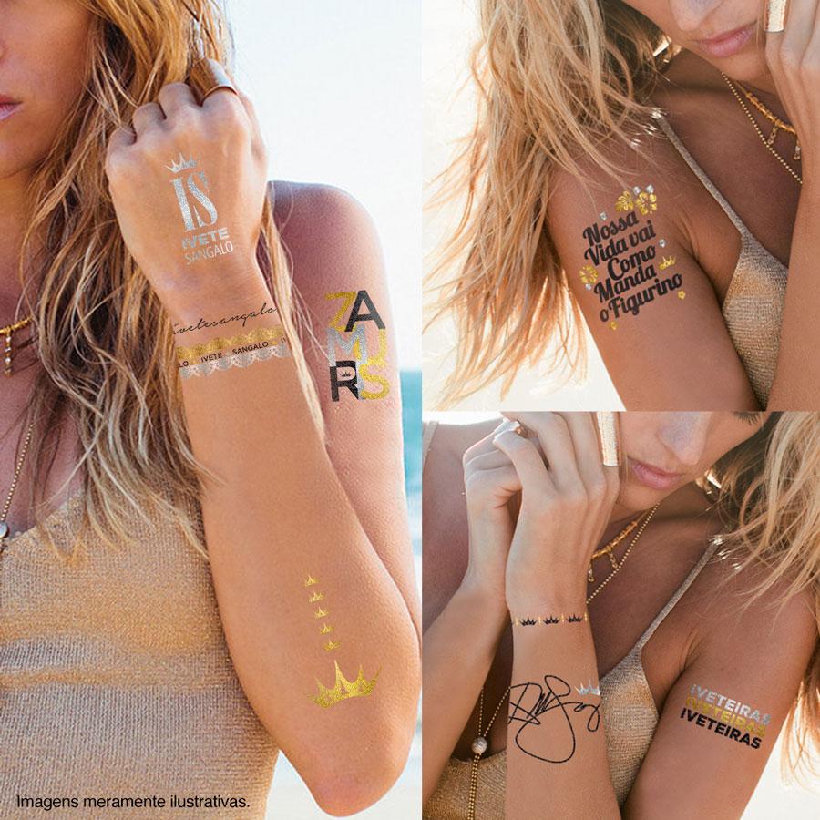 Gold Tattoo (Tatuagem) Ivete Sangalo