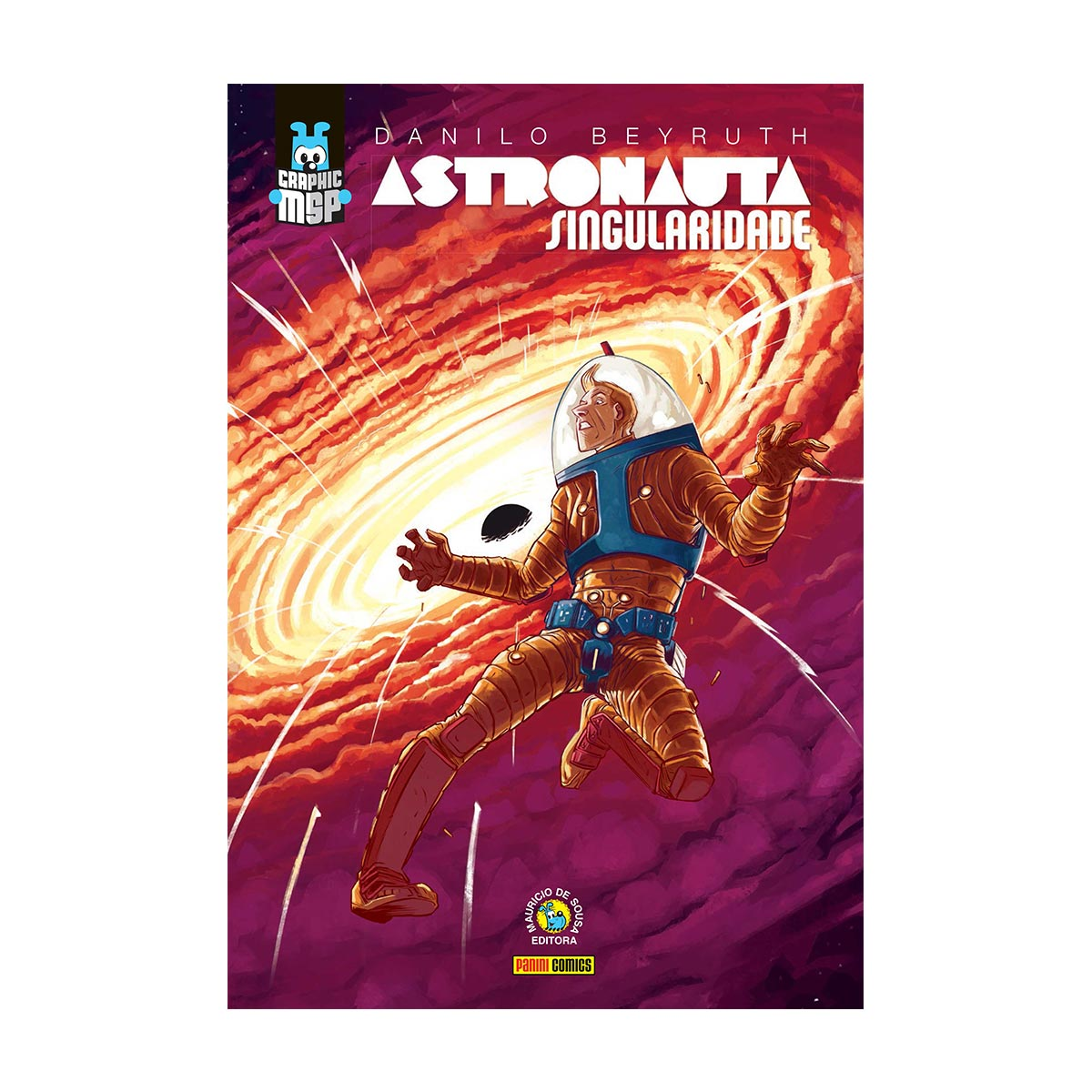 Graphic Novel Astronauta Singularidade