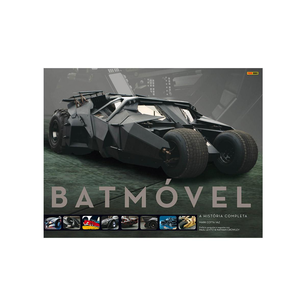 Graphic Novel Batmóvel A História Completa