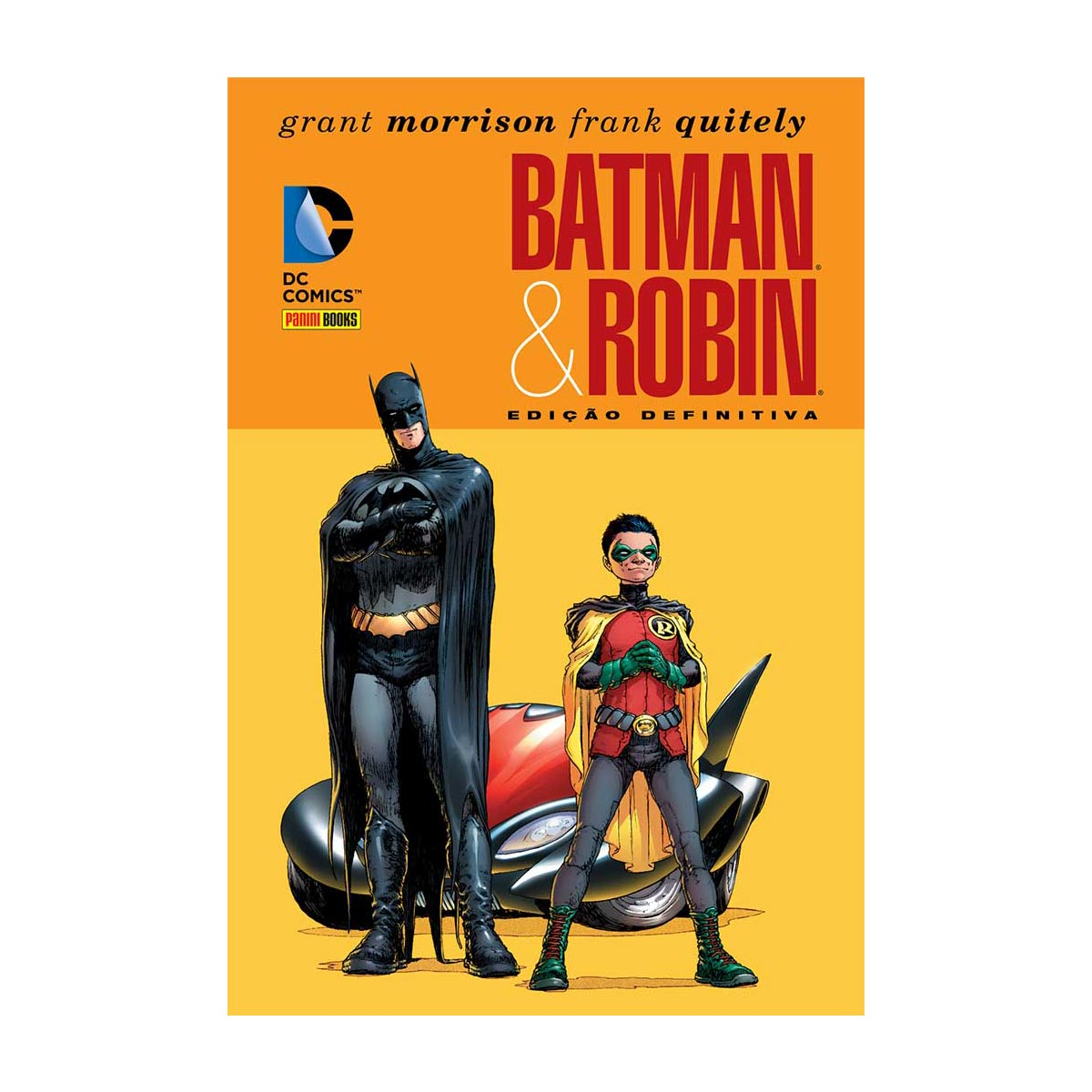 Graphic Novel Batman e Robin Edi��o Definitiva
