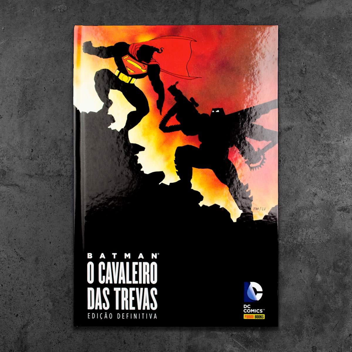 Graphic Novel Batman O Cavaleiro Das Trevas Edição Definitiva