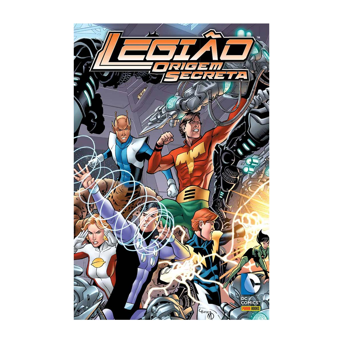 Graphic Novel DC Comics Legião Origem Secreta