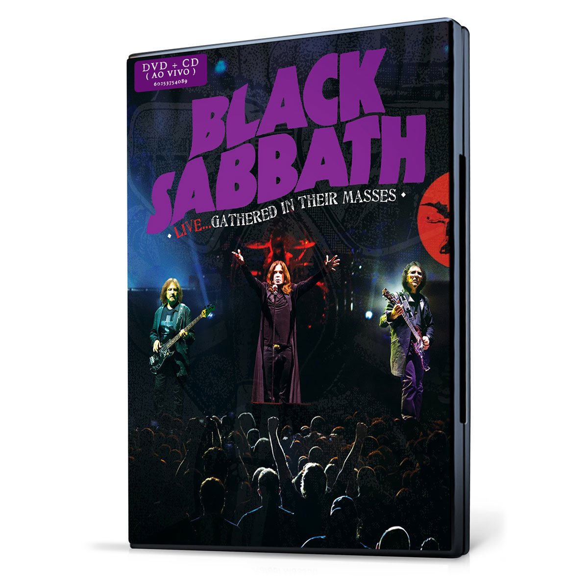 Kit CD + DVD Black Sabbath Live... Gathered in Their Masses