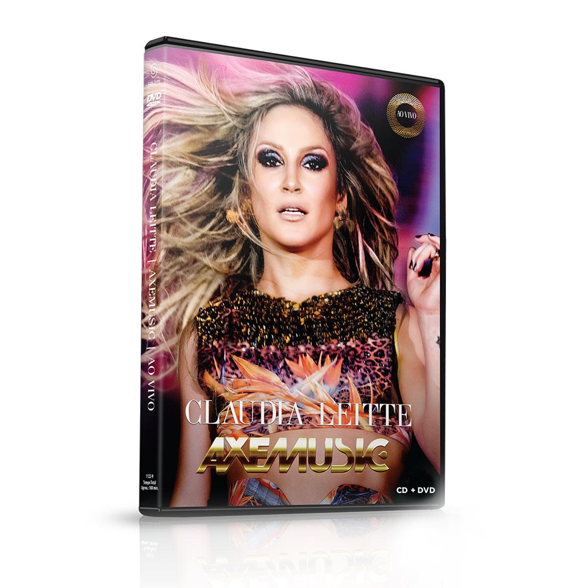 Kit CD + DVD Claudia Leitte Axemusic Ao Vivo