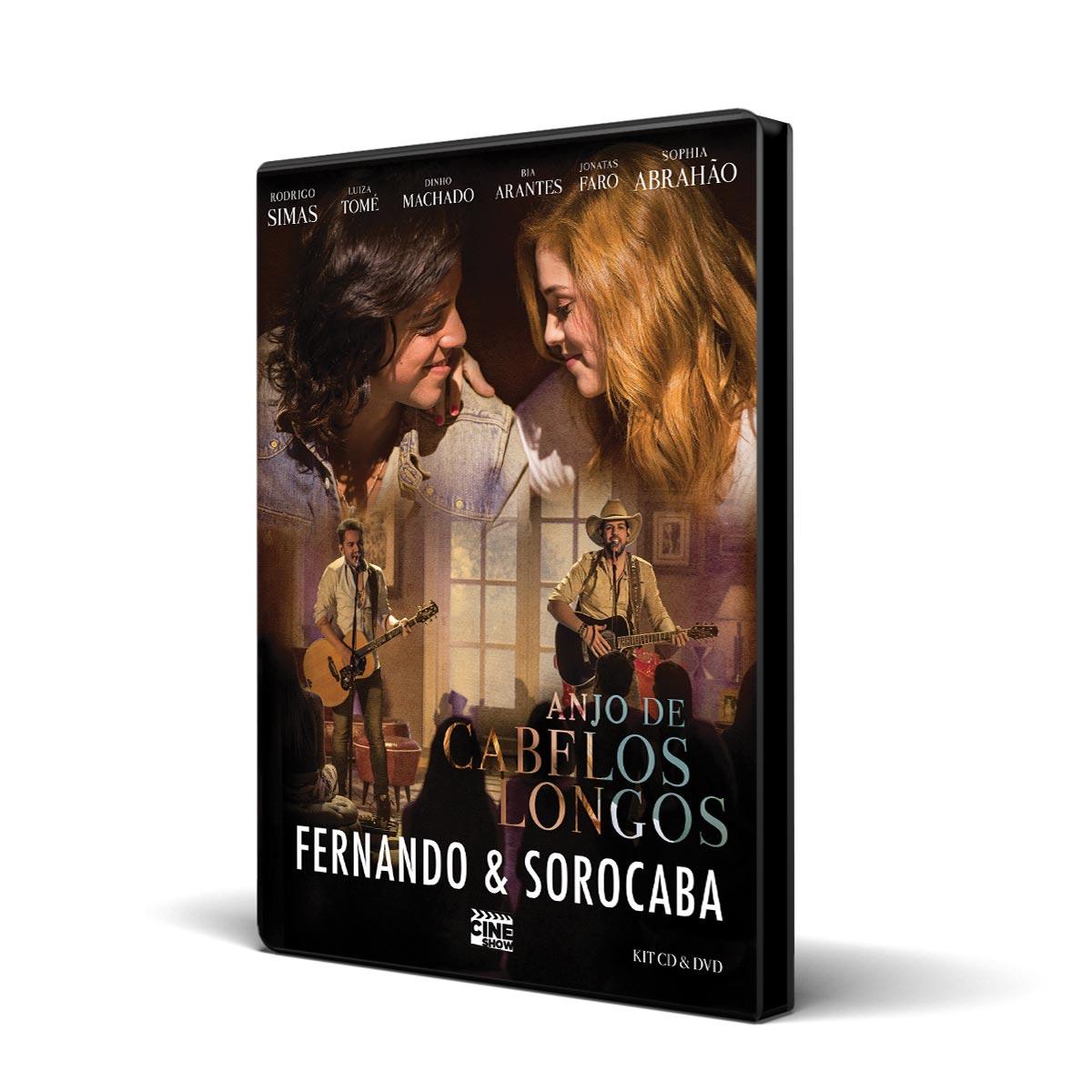 Kit CD + DVD Fernando & Sorocaba Anjo de Cabelos Longos