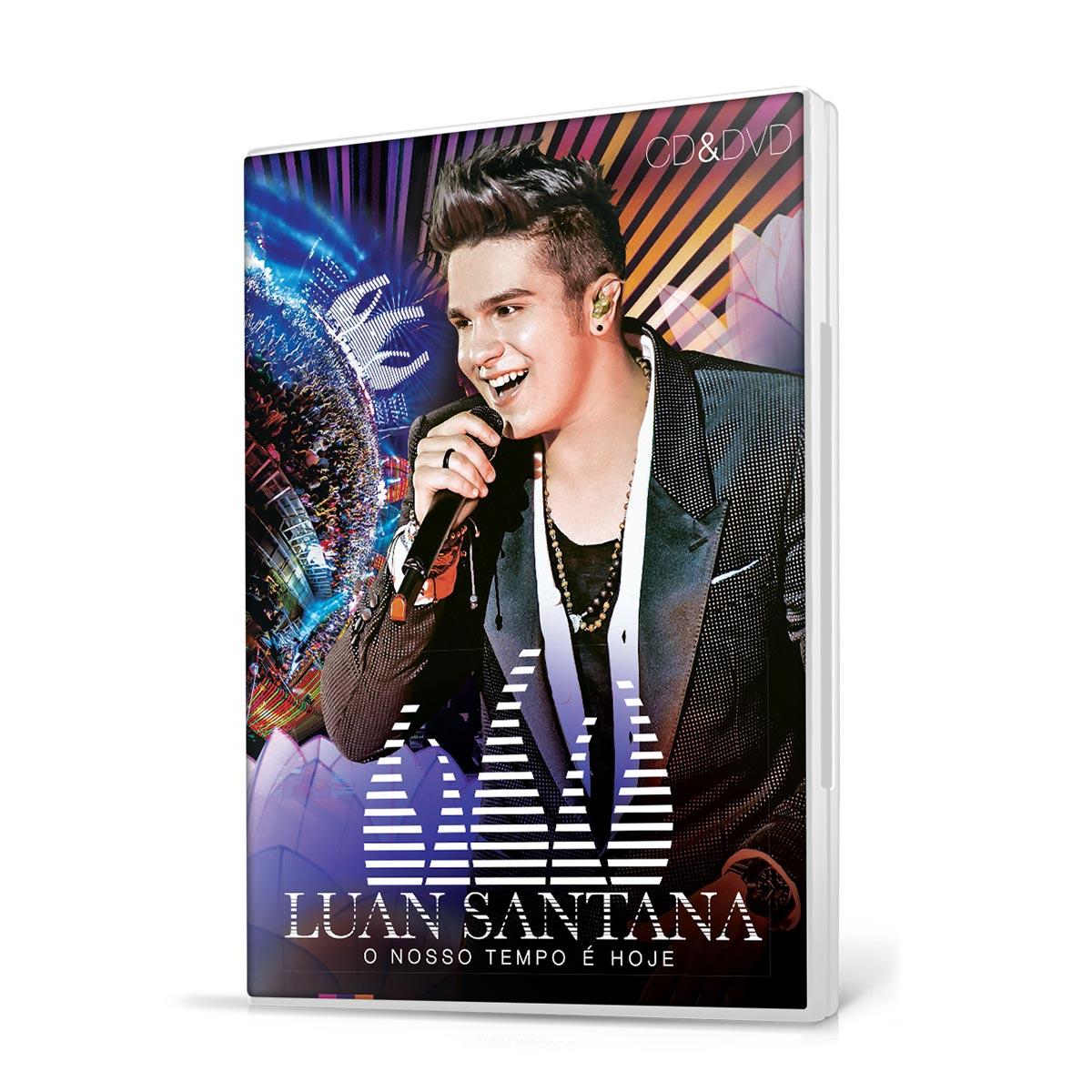KIT CD+DVD Luan Santana O Nosso Tempo � Hoje