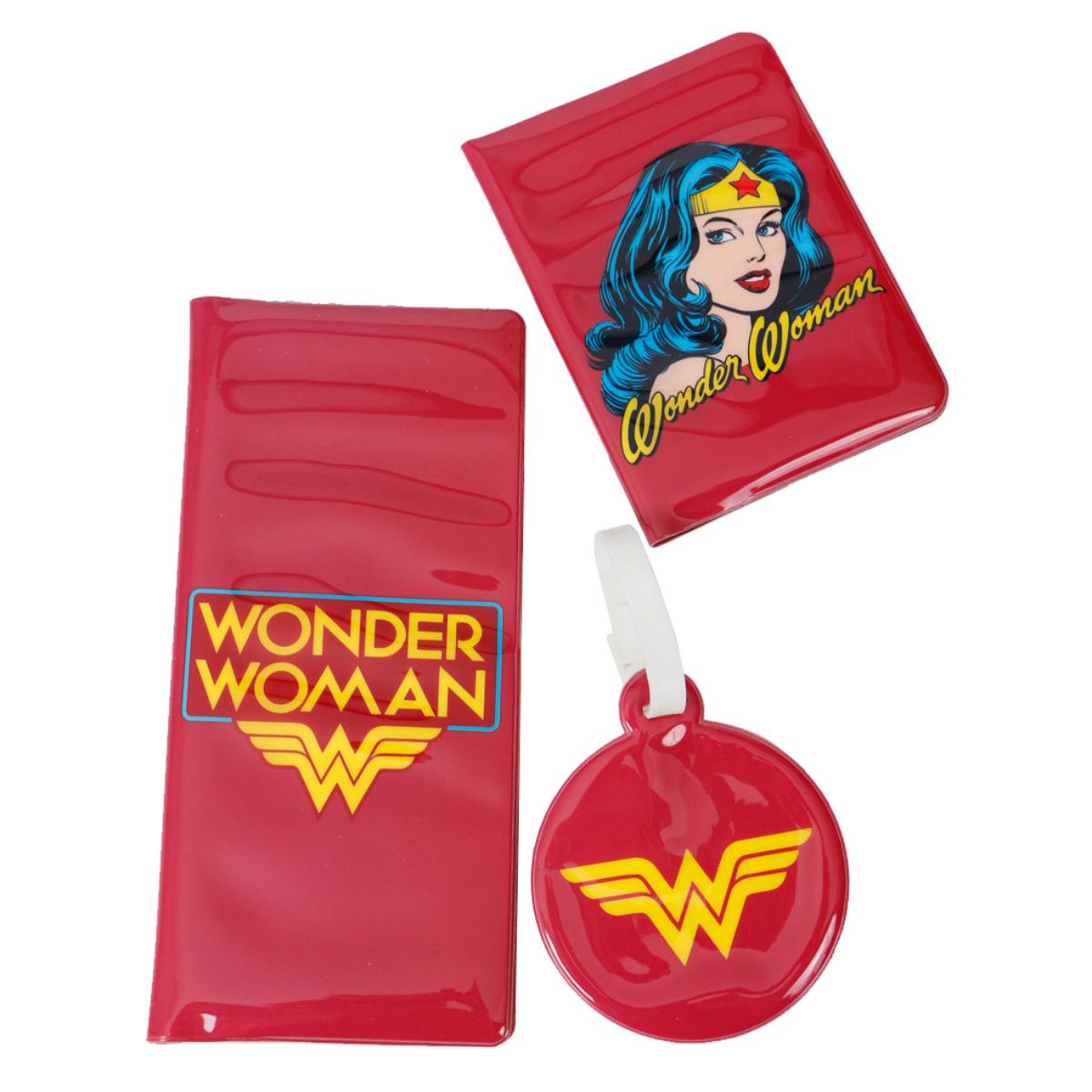 Kit Viagem Wonder Woman