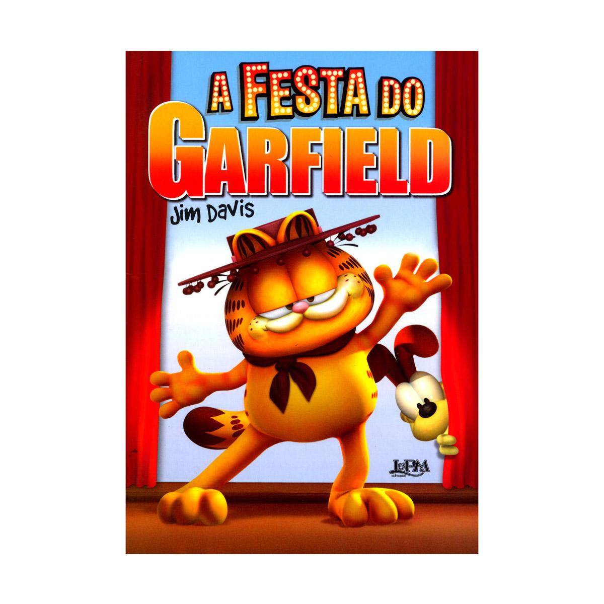Livro A Festa do Garfield