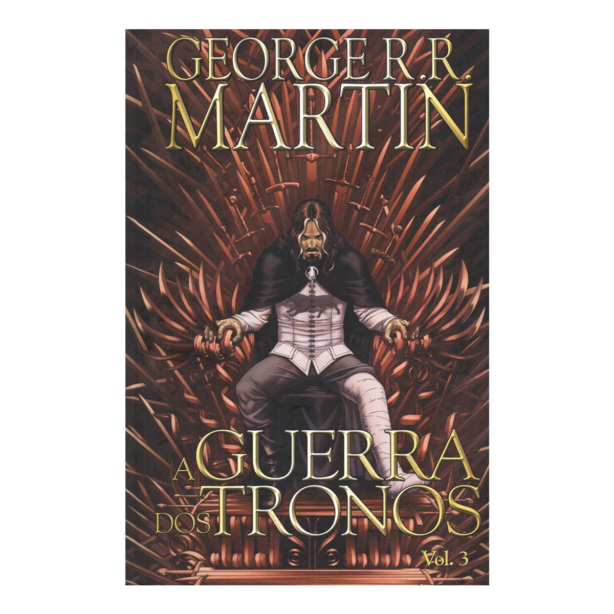 Livro A Guerra dos Tronos HQ Vol. 3