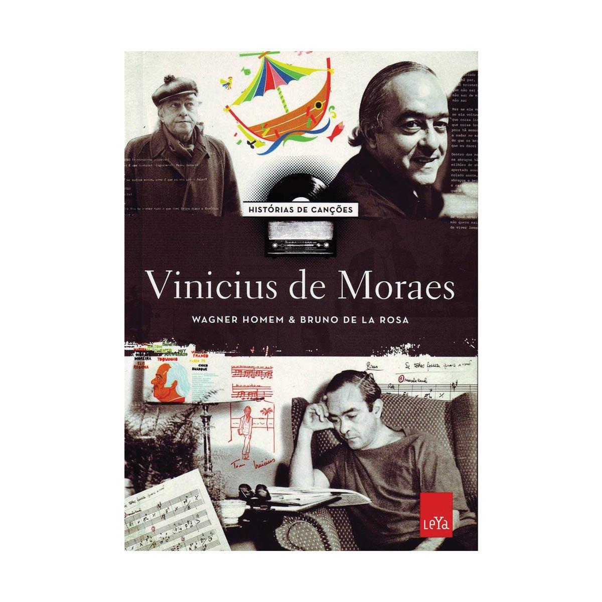 Livro Histórias das Canções de Vinicius de Moraes
