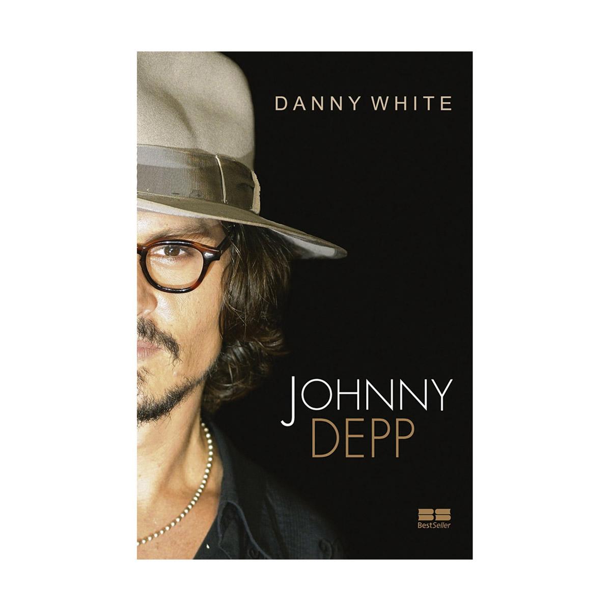 Livro Johnny Depp