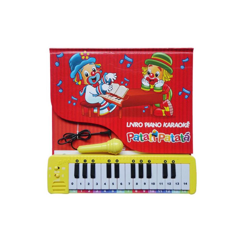 Livro Patati Patat� Piano Karaok�