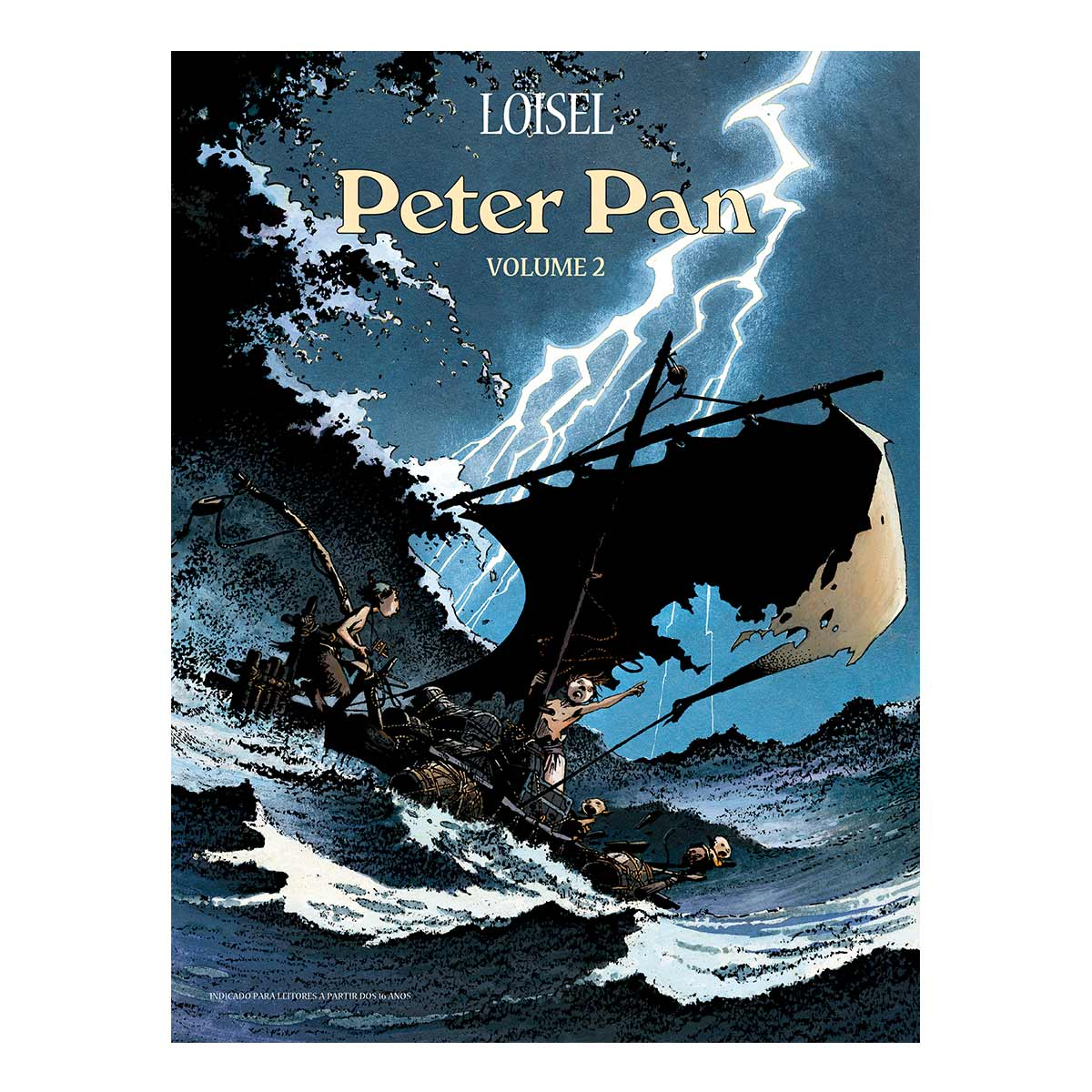 Graphic Novel Peter Pan Vol. 2
