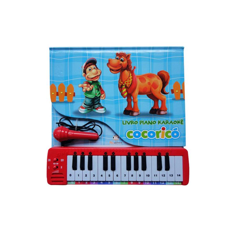 Livro Piano Cocoricó
