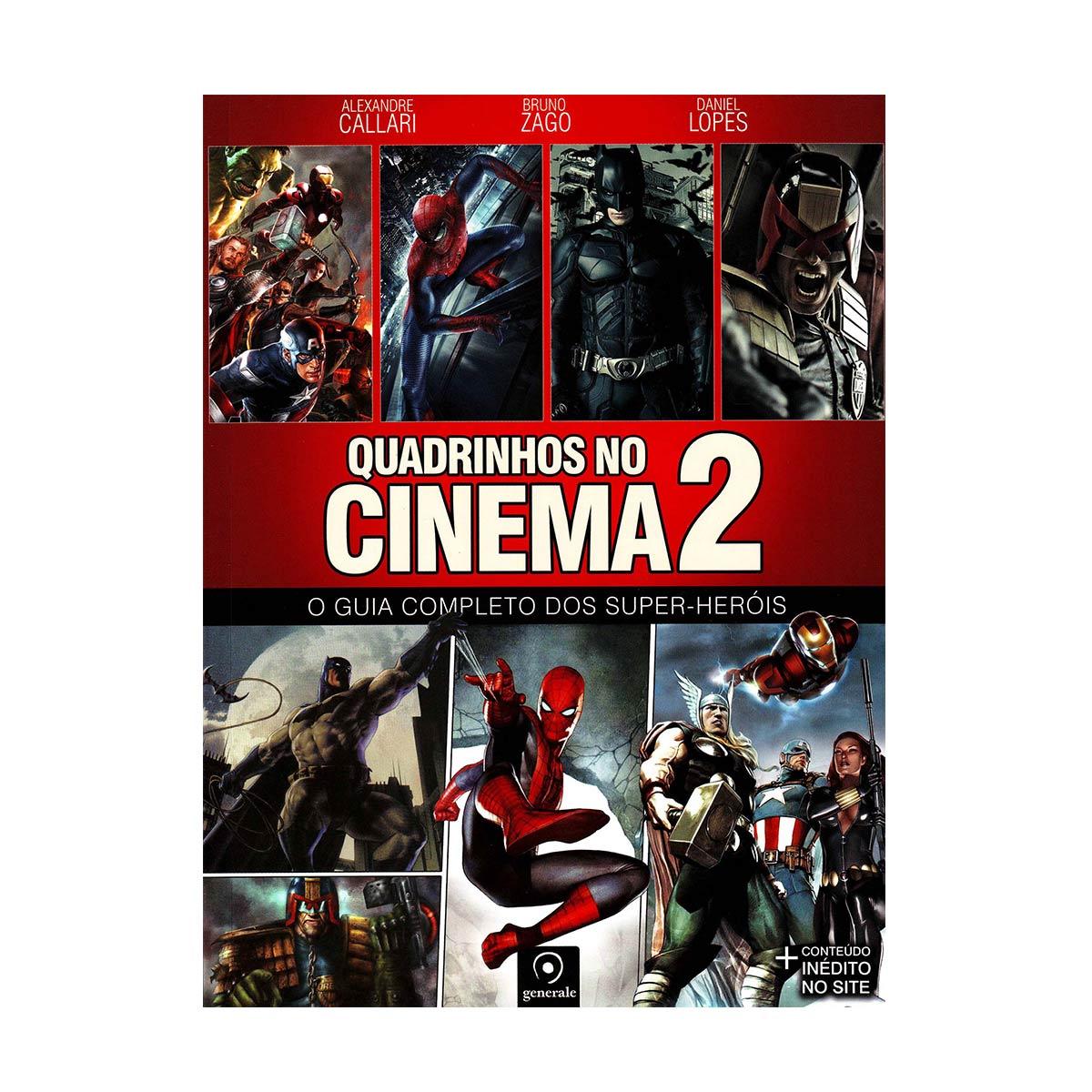 Livro Quadrinhos no Cinema 2 - O Guia Completo dos Super-Heróis